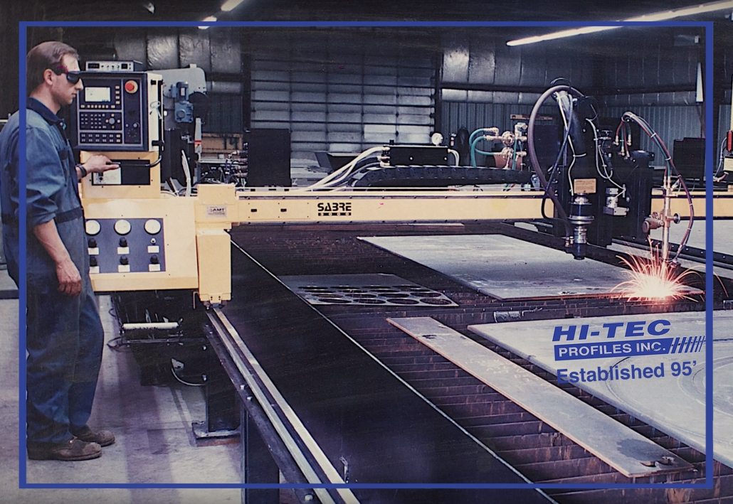 cutting steel at hit-tec-since 95