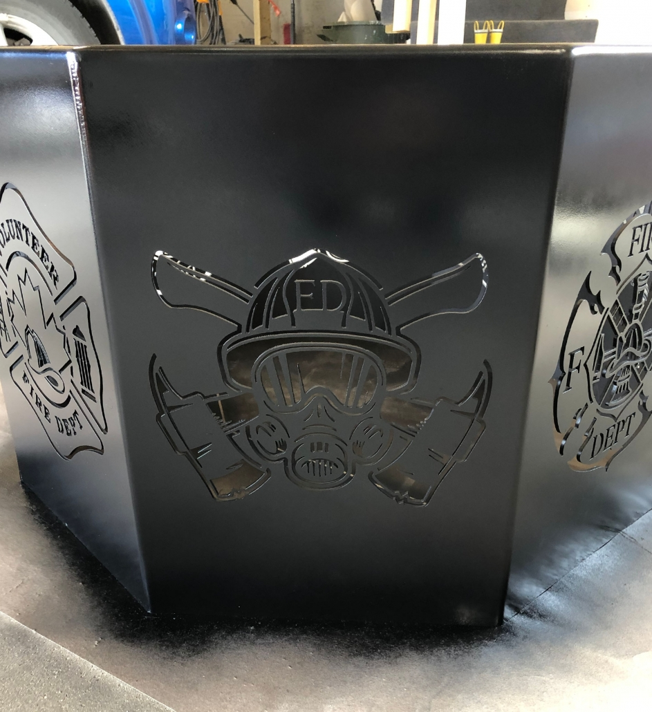 Custom Built Fire Pit