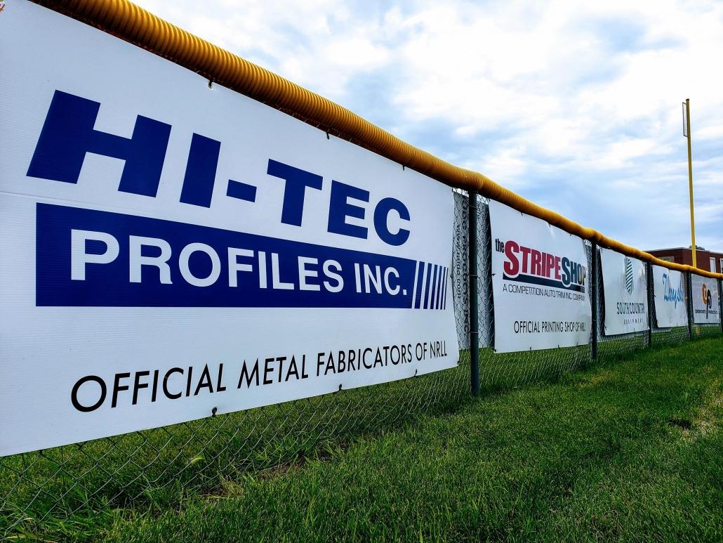 hi-tec sponsoring the north Regina Little League